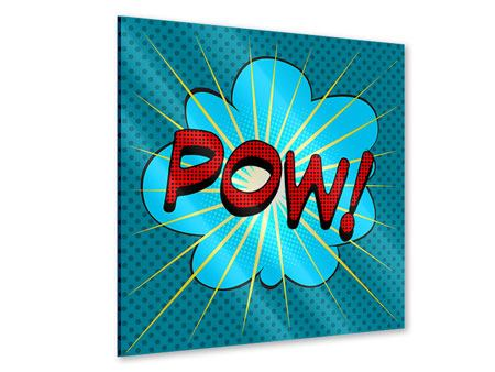 Acrylglasbild Pop Art Pow