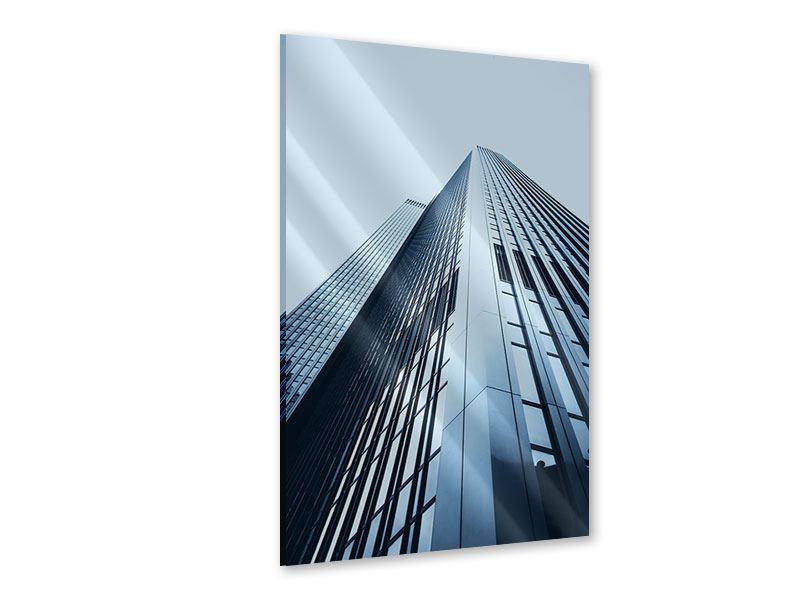 Acrylglasbild Hochhaus-Anblick
