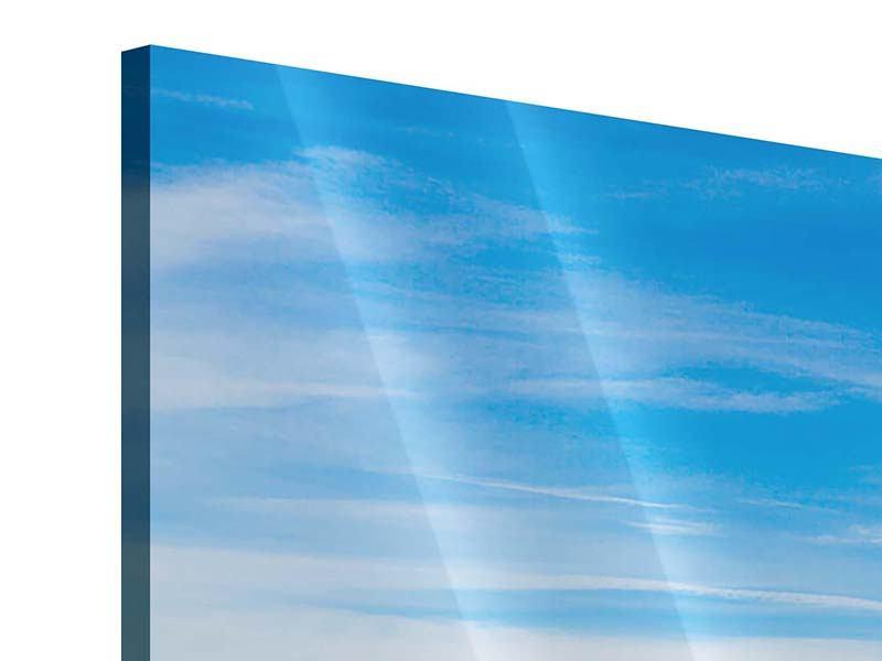 Acrylglasbild Verschneiter Gebirgskamm