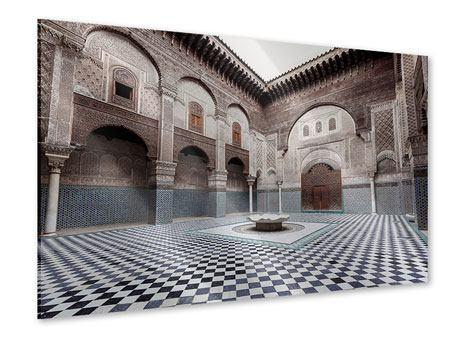 Acrylglasbild Orientalischer Hinterhof