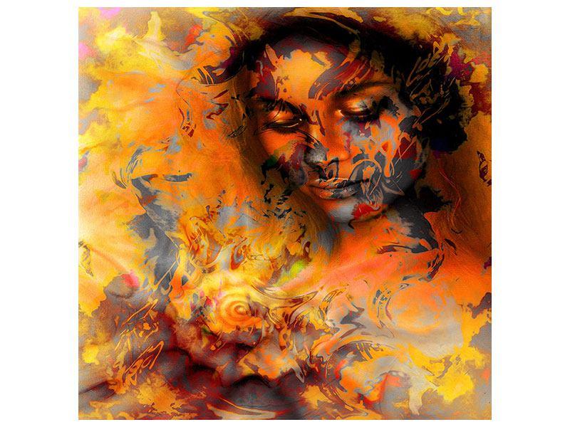 Acrylglasbild Geheimnisvolle Schönheit