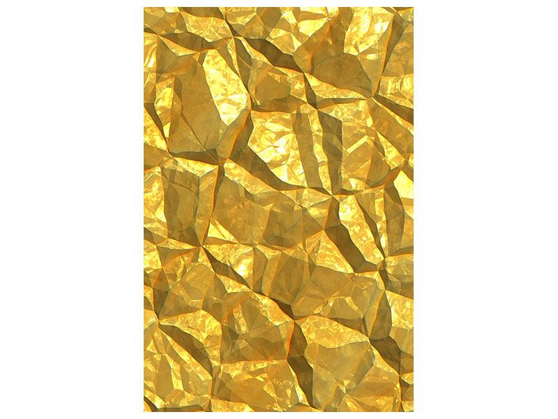 Acrylglasbild Gold
