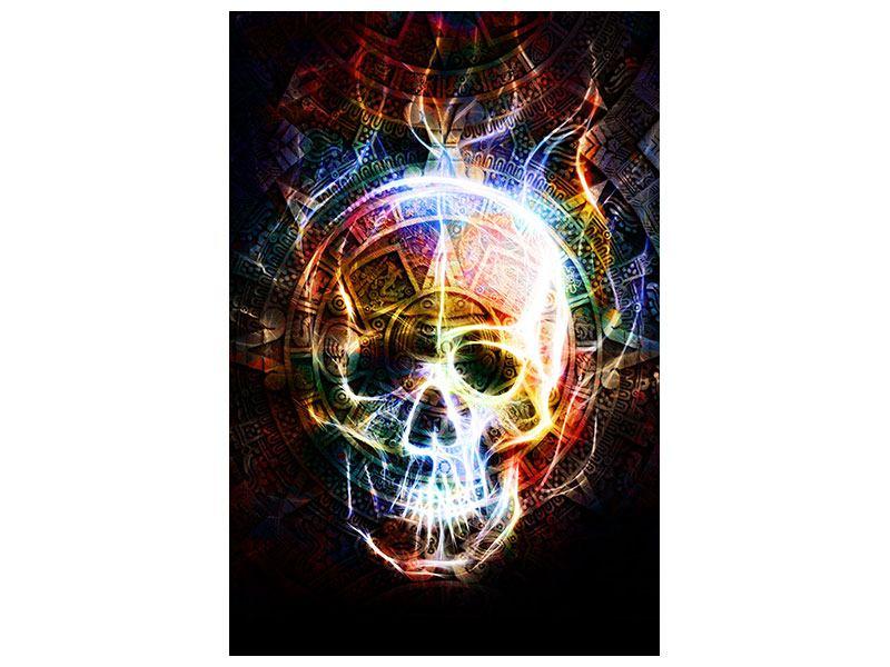 Acrylglasbild Psychedelic Skull