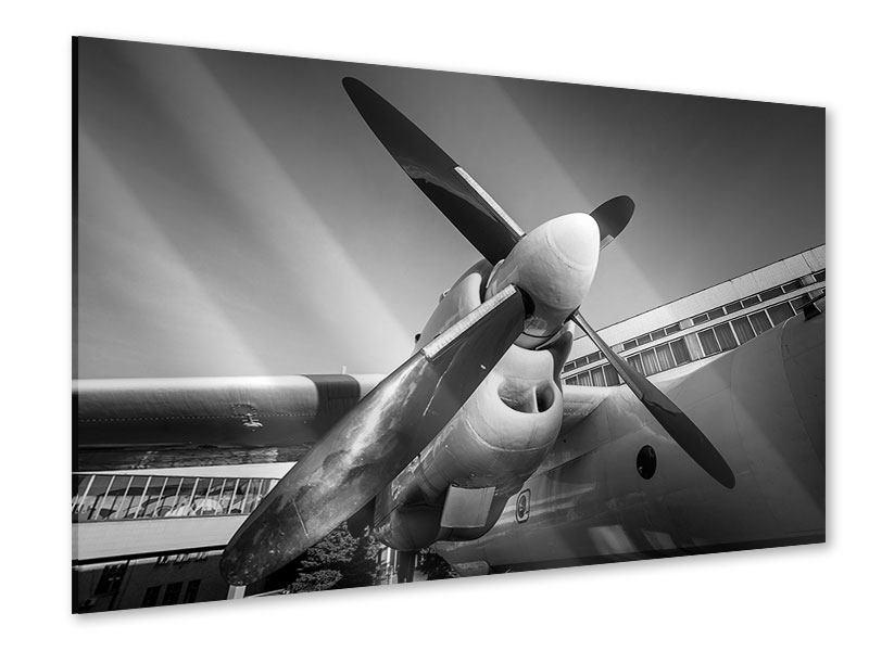 Acrylglasbild Nostalgisches Flugzeug