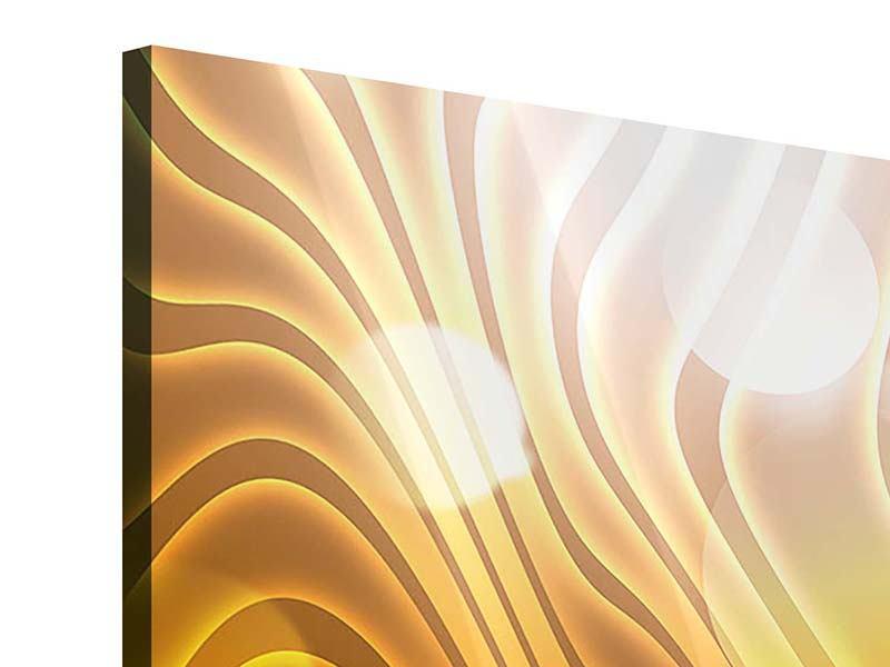 Acrylglasbild Abstrakte Kugelwellen