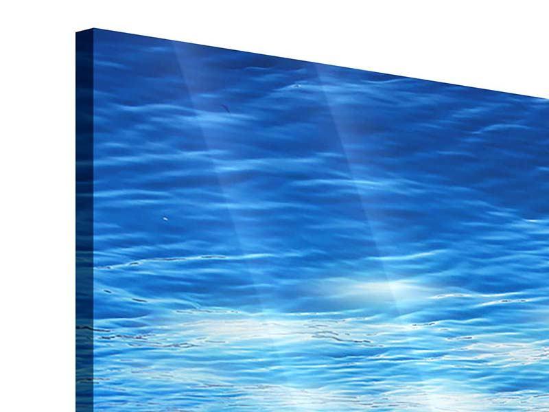 Acrylglasbild Licht unter Wasser