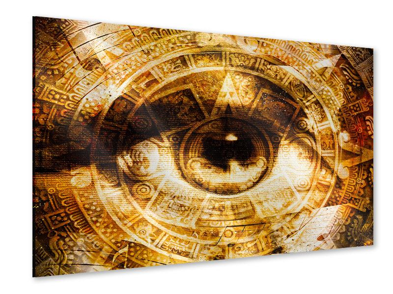 Acrylglasbild Fraktales Auge