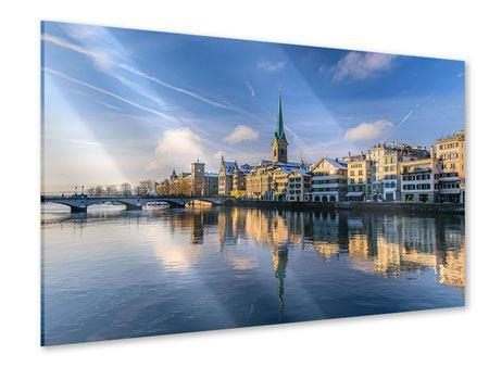 Acrylglasbild Zürich