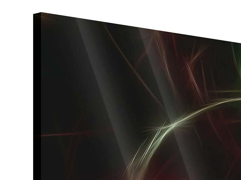 Acrylglasbild Fraktales Lichtspektakel
