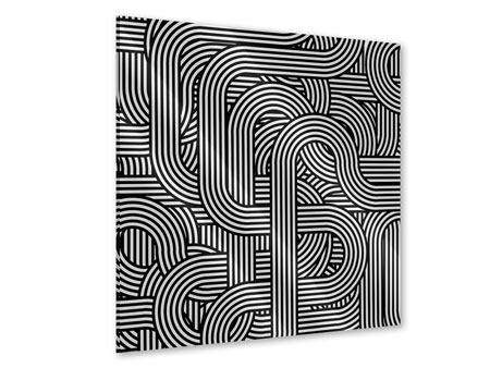 Acrylglasbild 3D Black & White