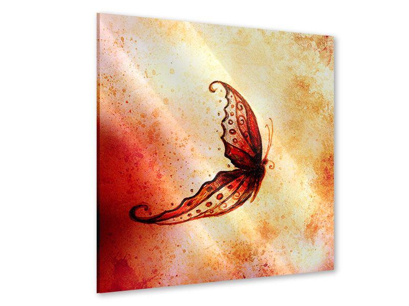 Acrylglasbild Butterfly Gemälde
