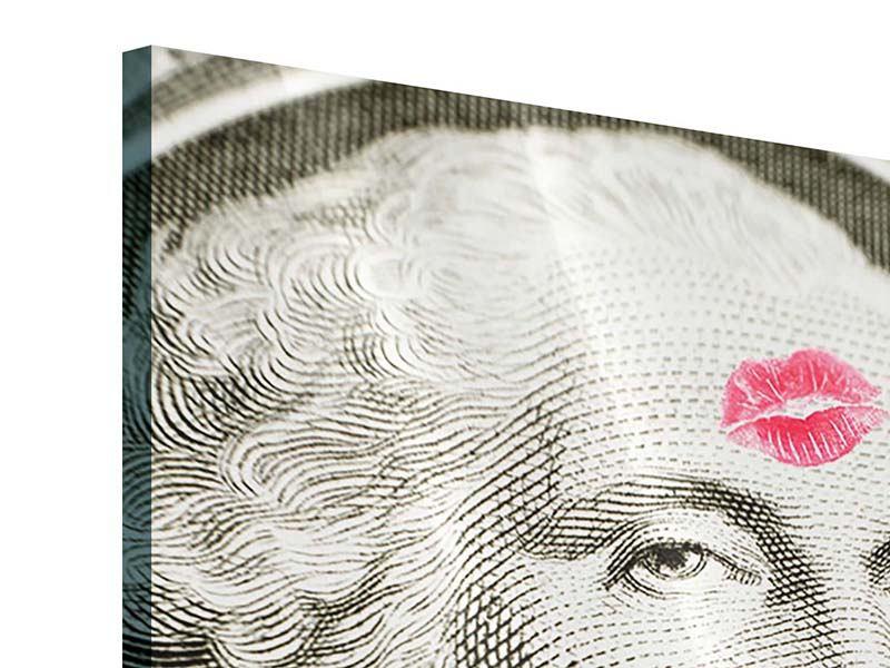 Acrylglasbild George Washington Banknote