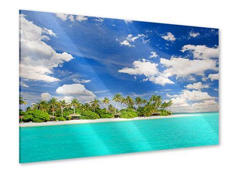 Acrylglasbild Meine Insel