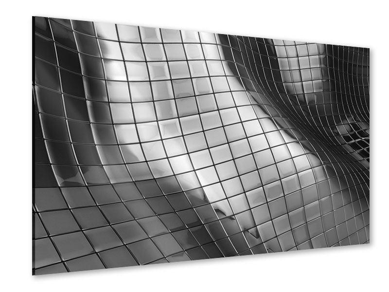 Acrylglasbild Abstrakter Stahl