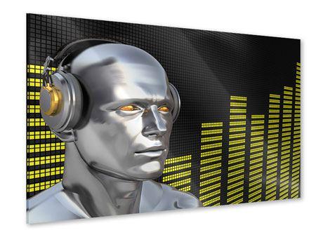 Acrylglasbild Futuristischer DJ