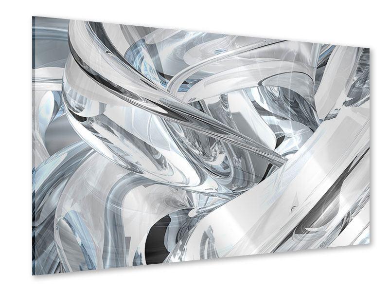 Acrylglasbild Abstrakte Glasbahnen