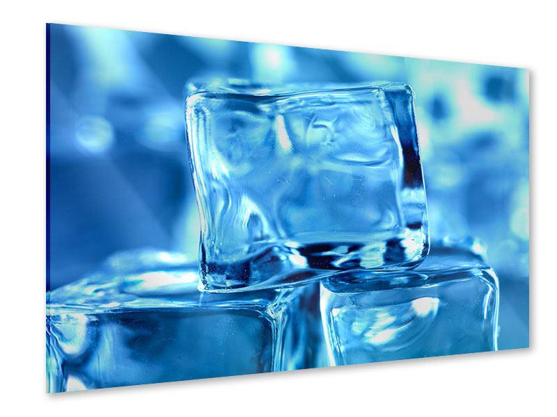 Acrylglasbild Eiswürfel XXL
