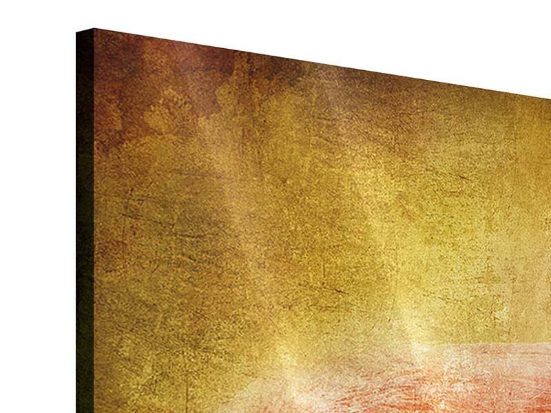 Acrylglasbild Ara im Retrostyle