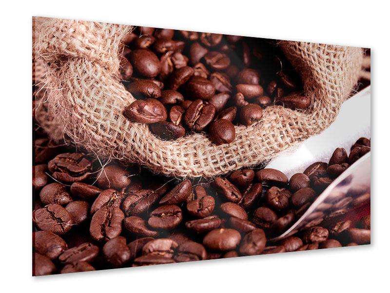 Acrylglasbild XXL Kaffeebohnen