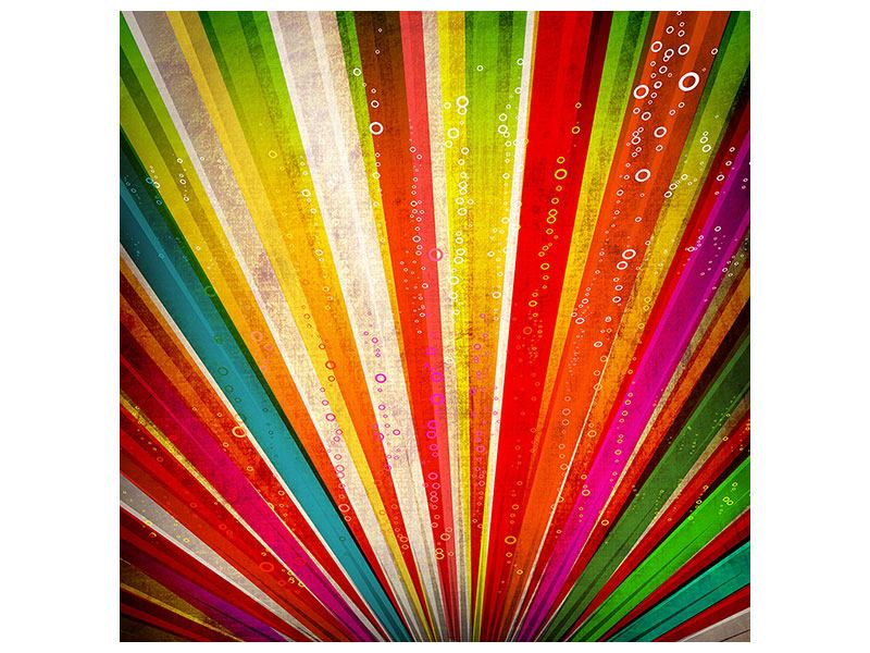 Acrylglasbild Abstrakte Farbstrahlen