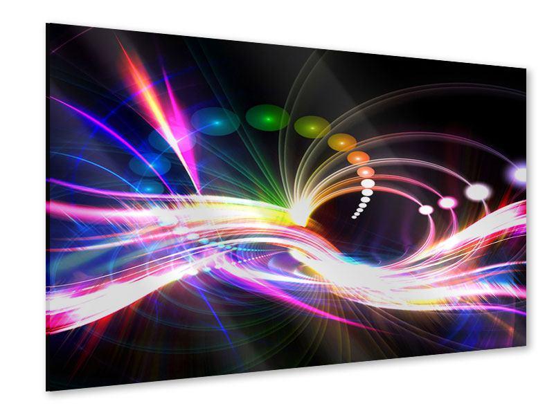Acrylglasbild Abstrakte Lichtreflexe