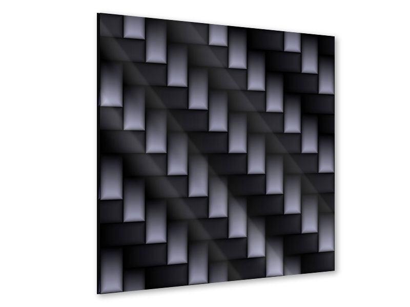 Acrylglasbild 3D-Treppen