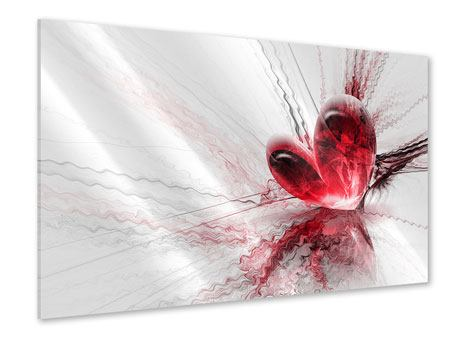 Acrylglasbild Herzspiegelung