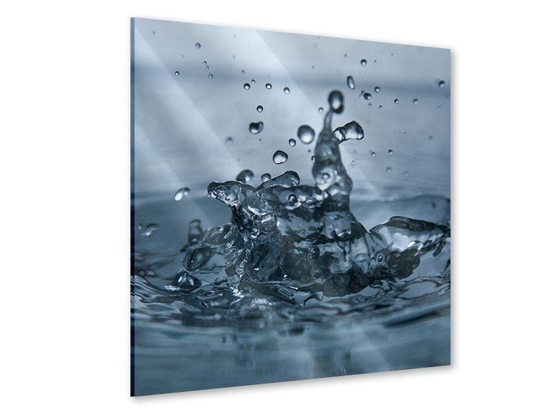 Acrylglasbild Wassertropfen