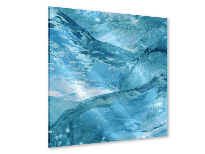 Acrylglasbild Cooler Eislook