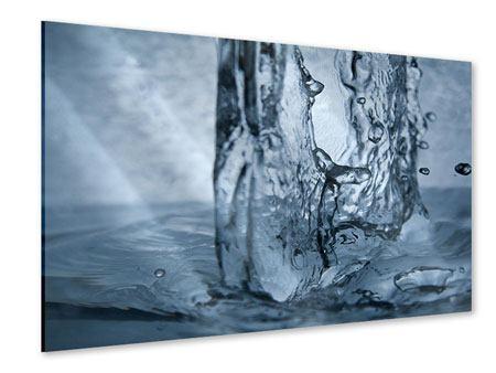 Acrylglasbild Wasserdynamik