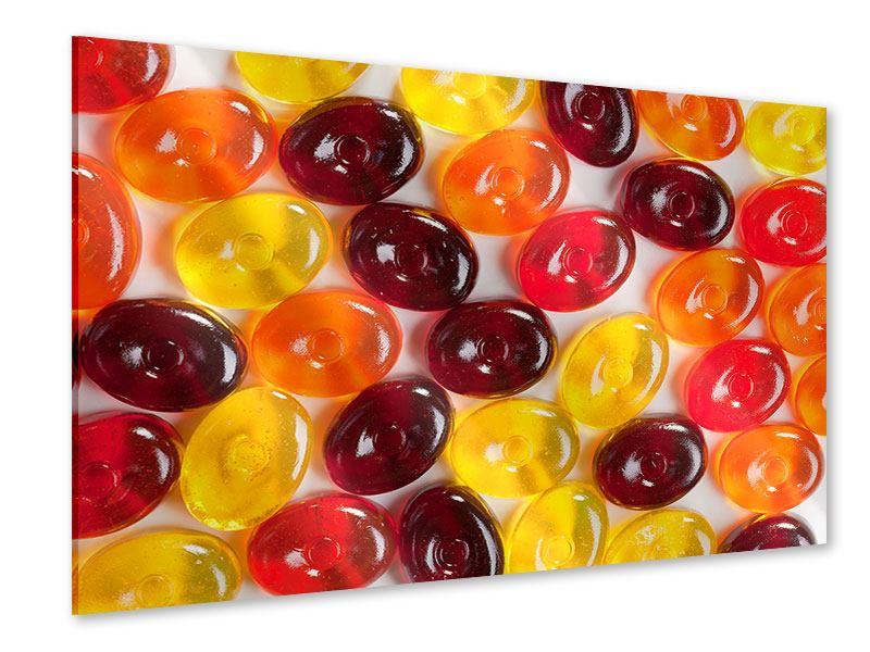 Acrylglasbild Bonbons