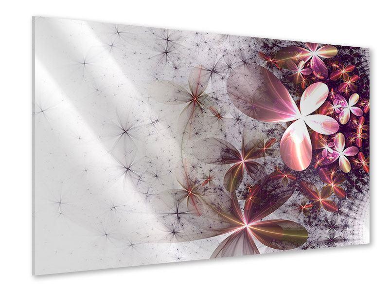 Acrylglasbild Abstrakte Blumen