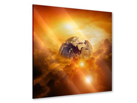 Acrylglasbild Mystischer Planet Erde