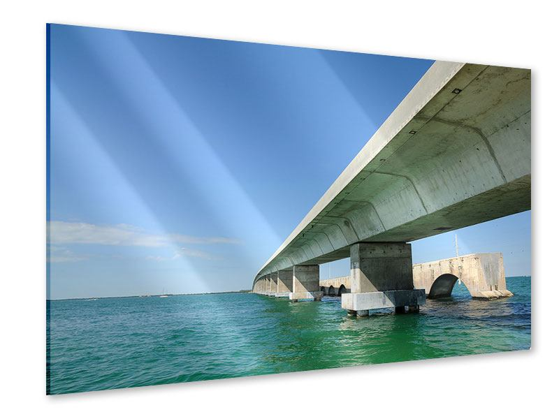 Acrylglasbild Seven Mile Bridge