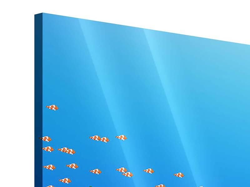 Acrylglasbild Der Schatz unter Wasser