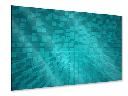 Acrylglasbild 3D-Kubusse