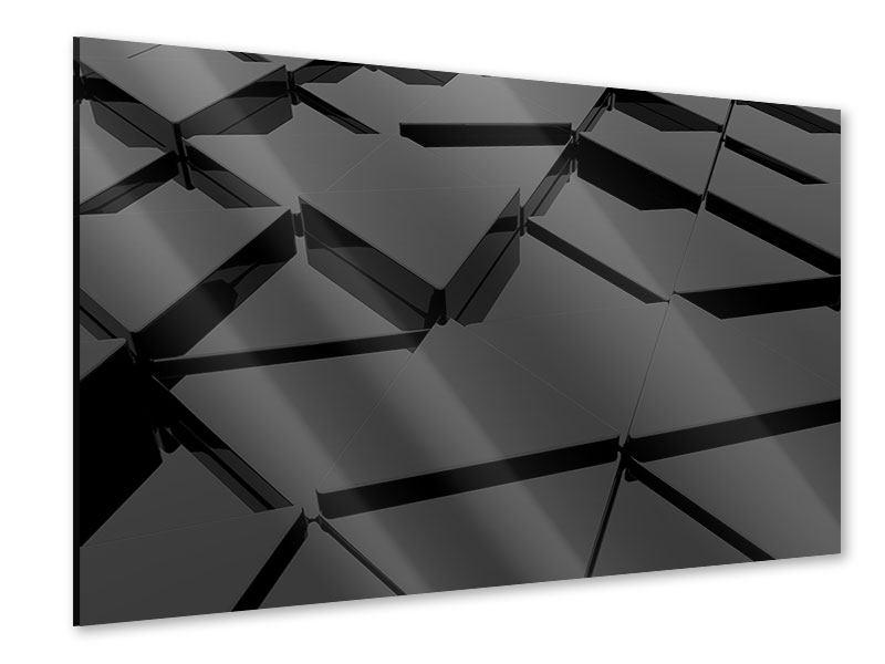 Acrylglasbild 3D-Dreiecksflächen