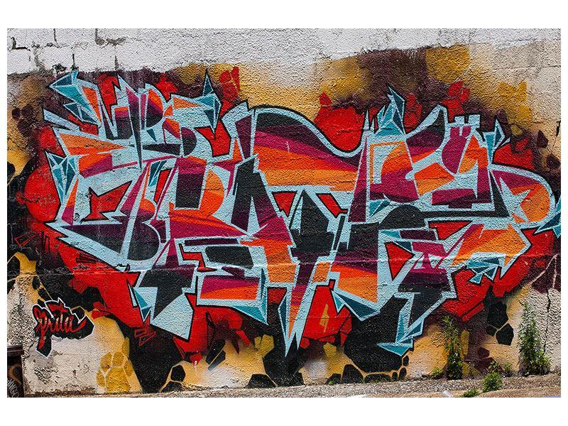 Acrylglasbild New York Graffiti