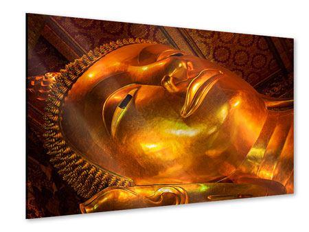 Acrylglasbild Liegender Buddha