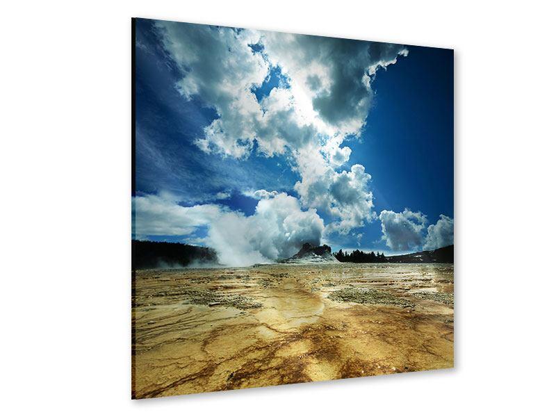 Acrylglasbild Vulkanlandschaft