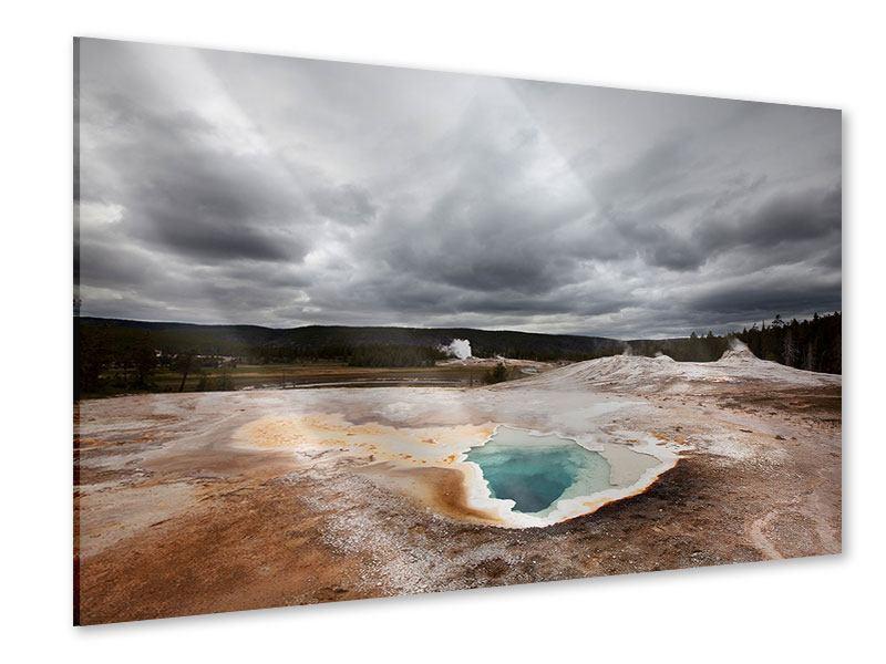 Acrylglasbild Vulkan