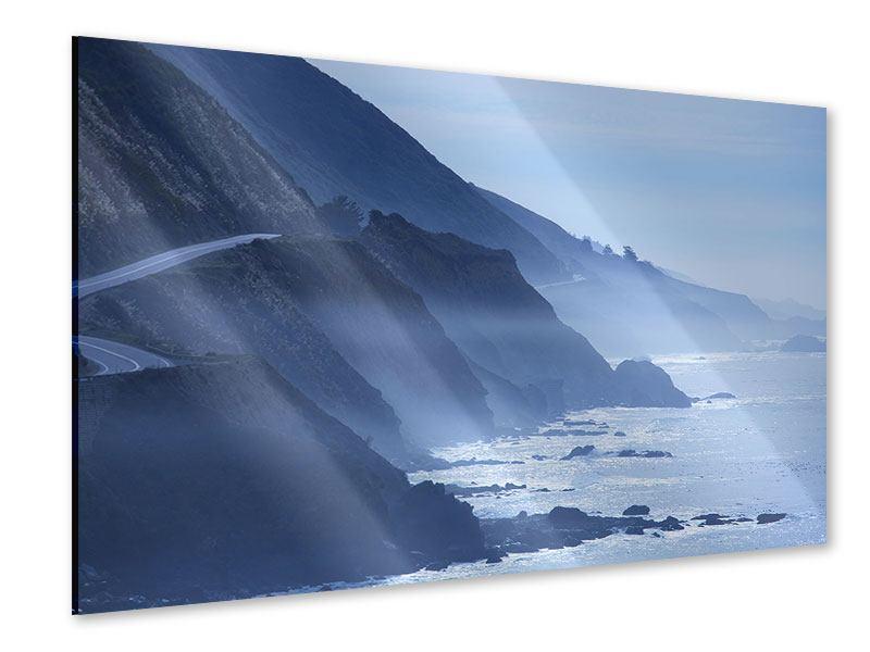 Acrylglasbild Bewegung im Wasser