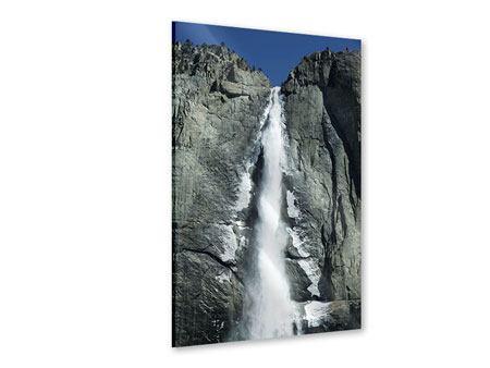 Acrylglasbild Wasserfall Yosemite