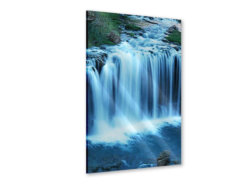 Acrylglasbild Am Wasserfall
