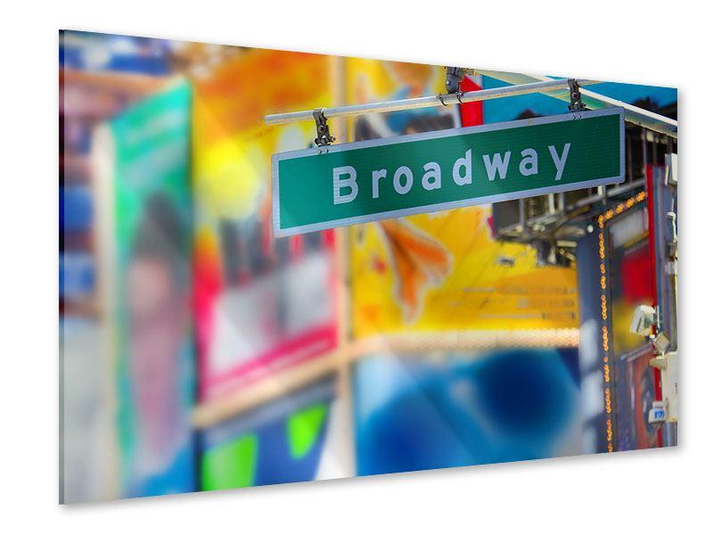 Acrylglasbild Broadway