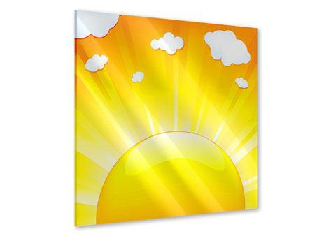 Acrylglasbild Die Sonne geht auf