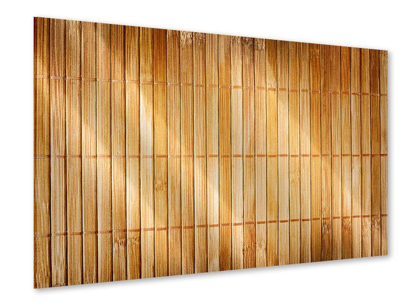 Acrylglasbild Bambusrohre