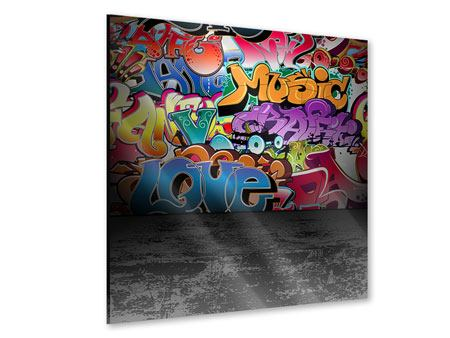 Acrylglasbild Graffiti-Writing