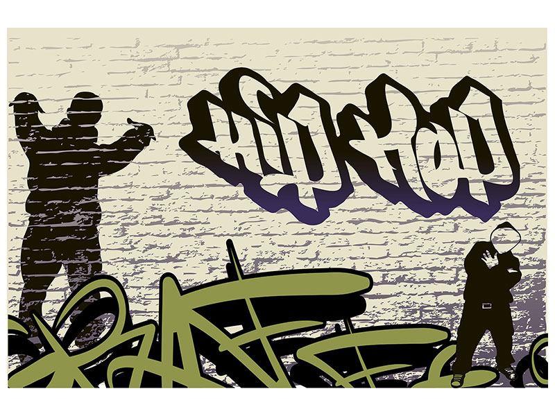 Acrylglasbild Graffiti Hip Hop