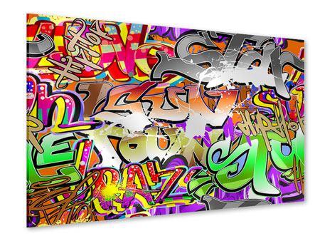 Acrylglasbild Writings